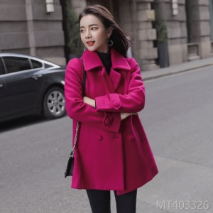 New Autumn and Winter Type A Fabric Overcoat