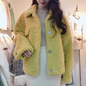 A New Fur-in-One Harbor Wind Lamb Fur Coat in Autumn and Winter of Xiaoxiangfeng in 2019