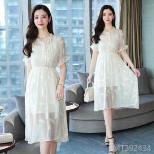 2009 New Summer Dress Korean Version Super Fairy Chic Gentle First Love Skirt