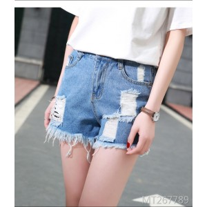 2009 Fashion Cool Summer Short Jeans Female Short Sexy Hair Edge