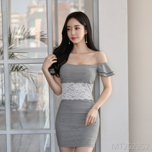 New Korean Sexy Slimming Buttock Dress in 2019