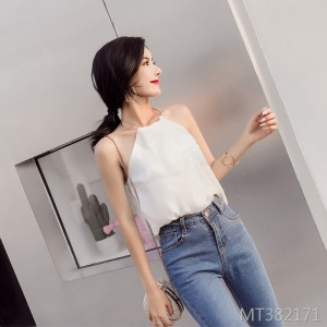 2009 new sexy exposed shoulder neck suspender ring chic Chiffon jacket