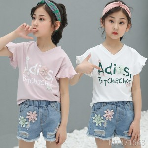 2019 New Westernized Suit Short Pants and Short Sleeves Two-piece Suit