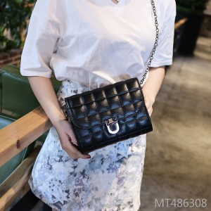 The new Korean version of the women's bag in 2019 is a mini-fragrant Ling Chain Bag