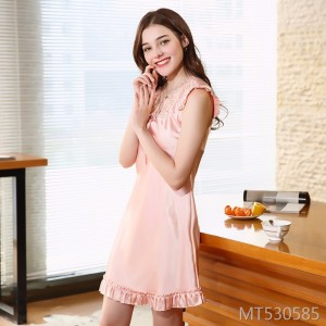 Spring and summer lace sexy nightdress home service