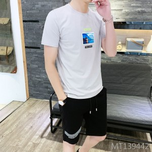 Korean version of the trend of slim handsome youth clothes casual sports suit