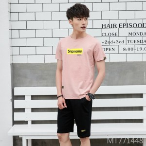 2019 summer new men's casual suit