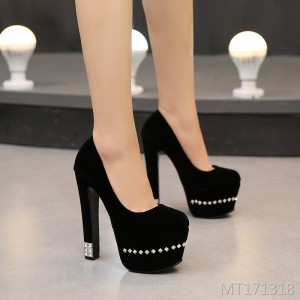 2019 spring new women's shoes super high heel shoes