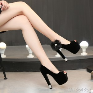 2019 spring new shallow mouth high heels