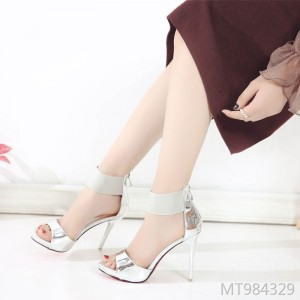 Europe and the United States summer new ultra high heel stiletto platform high heels