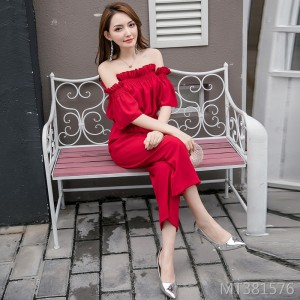 2019 new fashion top + pants two-piece