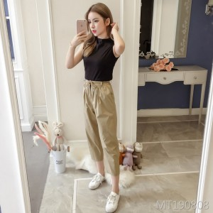 2019 summer new casual pants suit