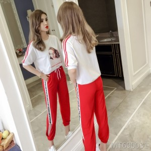 2019 new fashion loose summer sports suit