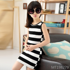 2019 summer new children's clothing Korean fashion sleeveless dress