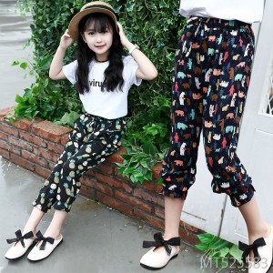 2019 new girls mosquito pants summer bloomers