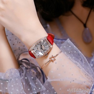 2019 new digital temperament rhinestone ladies watch