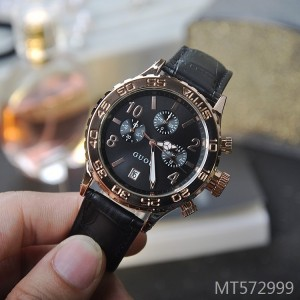 GUOU fashion with calendar local tyrant rose gold female watch