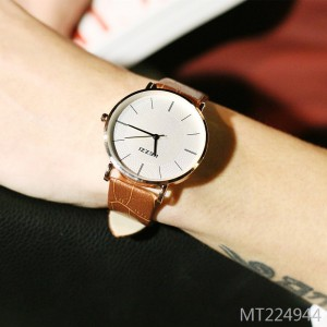 Kezzi Korean version of the simple belt lovers quartz watch