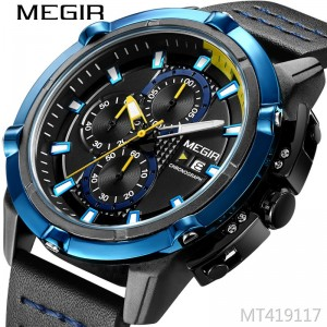 MEGIR features multi-function timekeeping calendar personality watch quartz watch