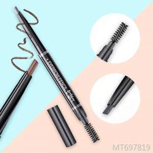 Magic Beauty Double-headed Triangle Automatic Eyebrow Pencil