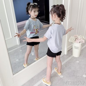 2019 new summer dress big boy thin t-shirt