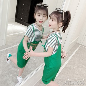 2019 new children's Korean version of the short-sleeved two-piece set