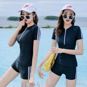2019 new cover belly slim sports swimsuit