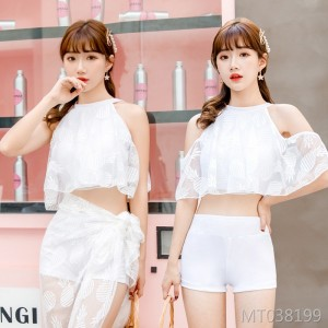 2019 new gathering slimming sexy ladies hot spring swimsuit