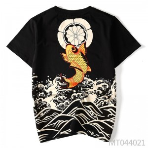 Summer new Japanese style short-sleeved T-shirt