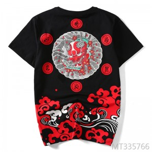 Japanese Tide brand Harajuku style cotton loose large size summer new T-shirt