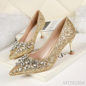 Korean fashion pointed shallow mouth high heels