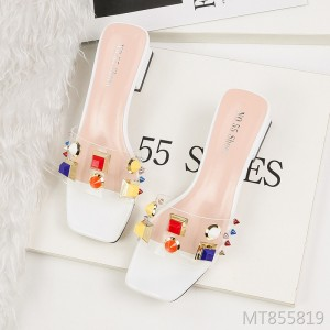 European and American sexy open toe shallow sandals