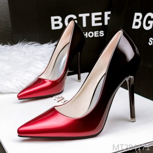 Korean version of pointed shallow mouth stiletto women's shoes