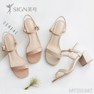 2019 new fairy wind buckle with Korean sandals