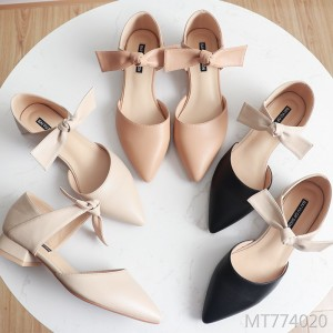 2019 spring new thick single shoes