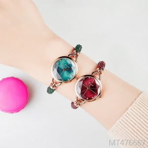2019 new Korean Kim Miou small dial quartz female watch