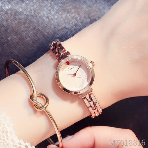 Bracelet style simple chain watch ins style temperament waterproof French niche