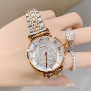 Korean fashion trend waterproof quartz watch starry diamond watch