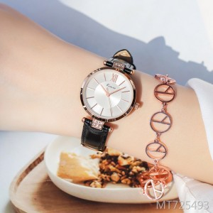 Korean version of the simple fashion trend casual atmosphere quartz women's watch