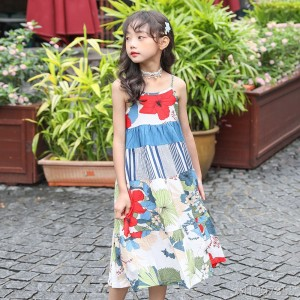 Girl Floral Dress Summer 2019