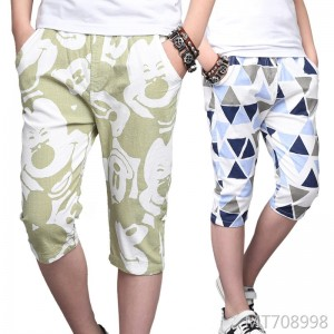 Summer new boy cotton pants