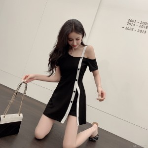 Fashion temperament was thin two-piece goddess Fan Xiaoxiang style suit skirt