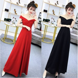 Long banquet slim slim evening dress dress long skirt