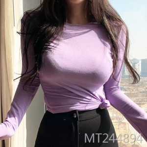 Sexy Slim Fit Chest Soft T-Shirt Female