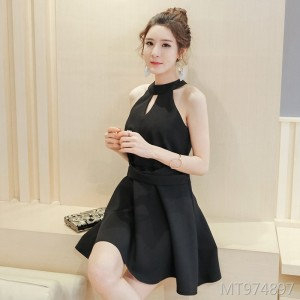 Slim fashion slim hosted autumn dress banquet evening dress