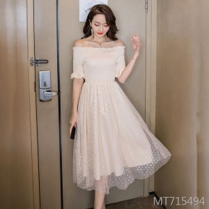Slim slimming Harajuku style dress retro port wind