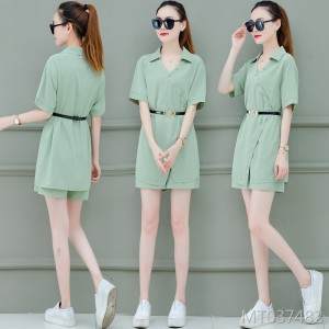 Joker summer dress, temperament, thin, wide-legged two-piece suit