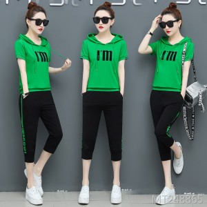 New fashion summer casual sportswear suit