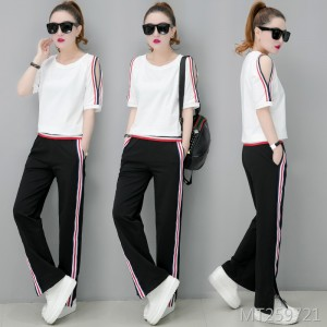 Casual sports suit fashion Korean summer dress two sets of tide