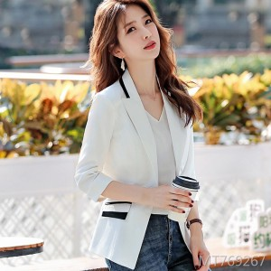 2019 new spring and autumn self-cultivation net red seven-point sleeve casual suit